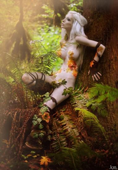 лесные нимфы фото ню арт